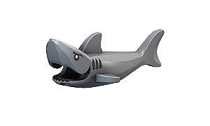 Boneco Compatível Lego Tubarão - Animais