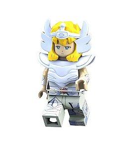 Boneco Compatível Lego Hyoga - Cavaleiros do Zodíaco (Edição Especial)