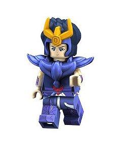 Boneco Compatível Lego Ikki  - Cavaleiros do Zodíaco (Edição Especial)