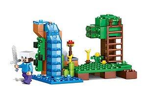 Set Minecraft LEGO Compatível (94 peças)