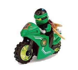 Boneco Moto Lloyd Ninjago Lego Compatível