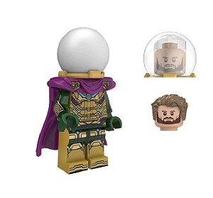 Boneco Mystério Lego Compatível - Homem-Aranha: Longe de Casa Marvel (Edição Deluxe)