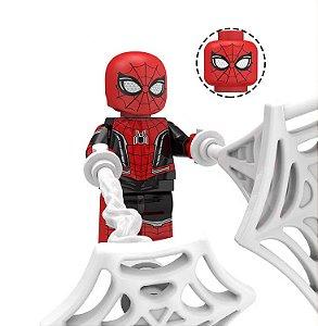 Boneco Homem-Aranha Longe de Casa Lego Compatível - Marvel (Edição Deluxe)
