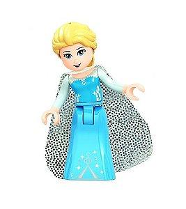 Boneca Elsa Frozen Lego Compatível - Princesas Disney