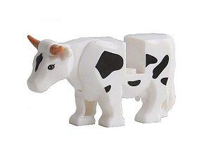 Boneco Compatível Lego Vaca - Animais