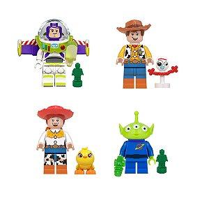 Kit Compatível Lego Toy Story c/4