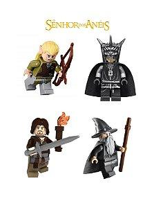 Kit 4 Bonecos Senhor dos Anéis Lego Compatível