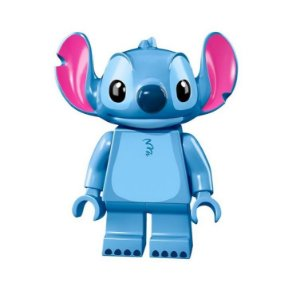 Boneco Stitch Lego Compatível - Disney