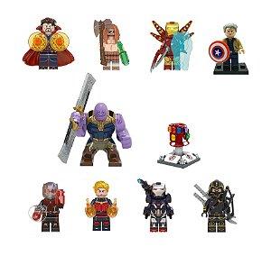 Kit Vingadores Ultimato Lego Compatível c/10 (Edição Deluxe)