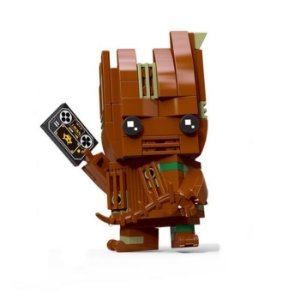 Brickheadz Groot - Cute Doll 99 pçs (Lego Compatível)