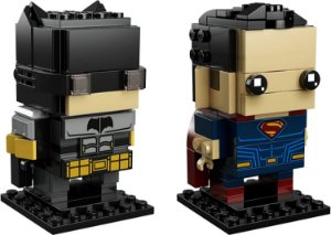 Brickheadz Batman e Superman - Cute Doll 209 pçs (Lego Compatível)