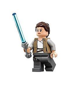 Boneco Rey Star Wars a Ascensão Skywalker Lego Compatível - Edição Deluxe