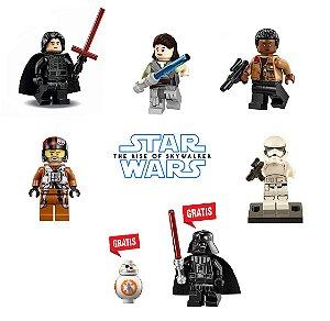 Kit Star Wars IX Lego Compatível - Leve 7 Pague 5