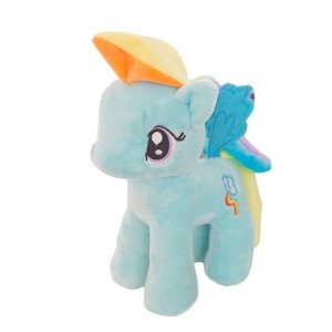 Pelúcia My Little Pony - Rainbow Dash (23 Cm)