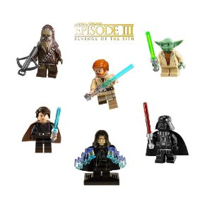 Kit Star Wars Vingança dos Sith Lego compatível C/ 6
