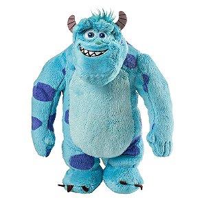 Pelúcia Sulley Monstros SA Pixar com Som Tam. 30cm