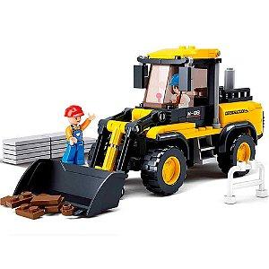 Blocos de Montar Construção Empilhadeiras compatível Lego - 212 Peças