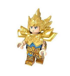 Boneco Compatível Lego Afrodite de Peixes - Cavaleiros do Zodíaco (Edição Especial)