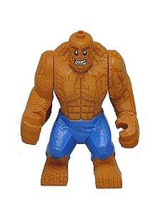 Boneco Coisa Lego Compatível Quarteto Fantástico - Marvel (Big Figure)