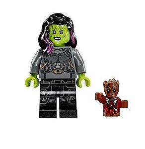 Boneco Gamora Lego Compatível - Guardiões da Galáxia (Edição Especial)