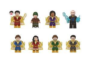 Kit Shazam Lego Compatível c/8 - DC Comics