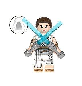 Boneco Rey Star Wars: A Ascensão Skywalker Lego Compatível (Edição Deluxe)