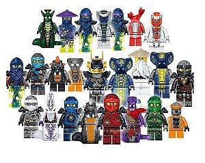 Kit Ninjago Lego Compatível c/ 24