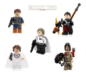 Kit Star Wars Rogue One Lego Compatível c/5