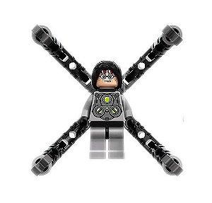 Boneco Doutor Octopus Lego Compatível - Marvel