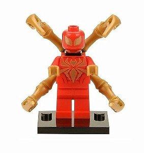 Boneco Aranha de Ferro Lego Compatível - Marvel (Edição Clássica)