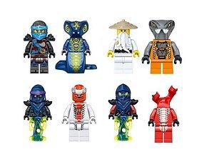 Kit Ninjago Lego Compatível c/ 8 - Fusion Armor