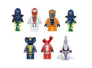 Kit Vilões Ninjago Lego Compatível c/ 7