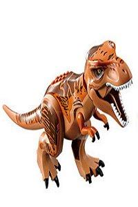 Brinquedo Dinossauro T-rex Lego Compatível (12 CM de Comprimento) - Jurassic World