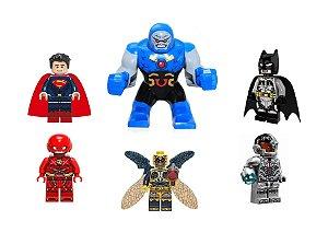Kit Liga da Justiça LEGO compatível - Dc Comics (C/6)