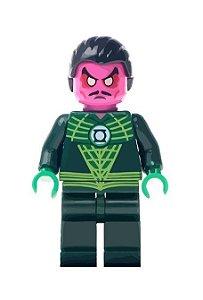 Boneco Sinestro Lanterna Verde Lego Compatível - Dc Comics