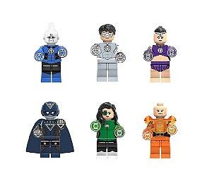 Kit Lanternas Especiais LEGO compatível - DC Comics c/ 6