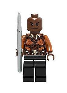 Boneco Okoye Lego Compatível - Marvel Pantera Negra