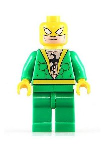 Boneco Punho de Ferro Lego Compatível - Marvel