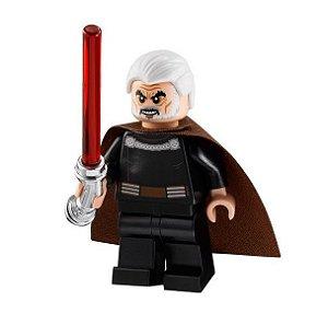 Boneco Conde Dookan Star Wars Lego Compatível (Edição Especial)
