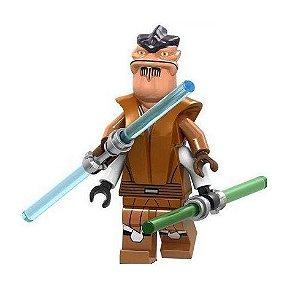 Boneco Pong Krell Star Wars Lego Compatível (Edição Especial)
