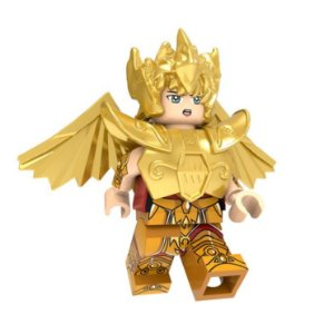 Boneco Compatível Lego Aiolos de Sagitário - Cavaleiros do Zodíaco (Edição Especial)