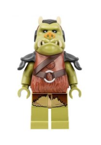 Boneco Guarda Gamorreano Star Wars Lego Compatível