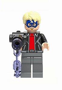 Boneco Ladrão Mascarado Capitão América Lego Compatível - Marvel