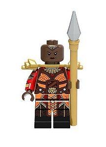 Boneco Okoye Lego Compatível - Pantera Negra Marvel (Edição Especial)