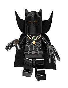 Boneco Pantera Negra Clássico Lego Compatível - Marvel (Edição Deluxe)
