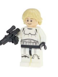 Boneco Luke Skywalker Stormtrooper Star Wars Lego Compatível (Edição Deluxe)