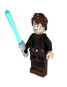 Boneco Anakin Skywalker com Comunicador Star Wars Lego Compatível (Edição Especial)