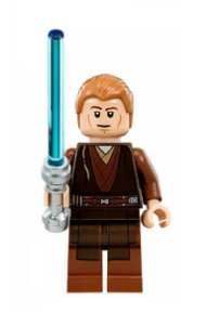Boneco Anakin Skywalker Padawan Star Wars Lego Compatível