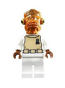Boneco Almirante Ackbar Star Wars Lego Compatível (Edição Especial)
