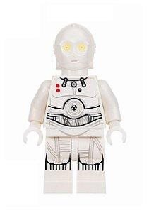 Boneco K-3PO Star Wars Lego Compatível